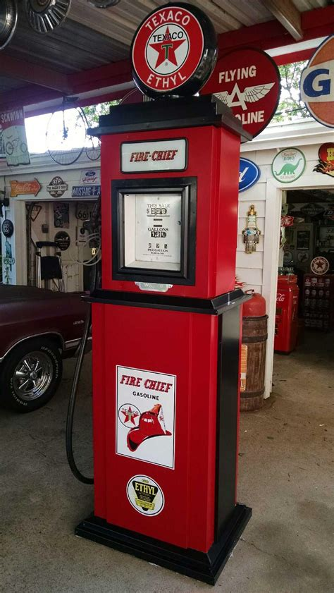Diy Gas Pump Replica Display